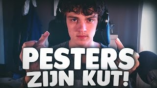 PESTERS ZIJN KUT!!! - Slither.io