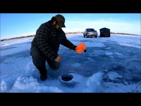 A Day On The Ice At Blackstrap Lake  2019