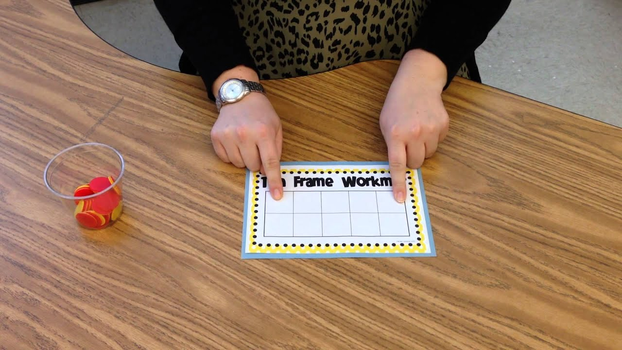 Composing Numbers on a Ten-Frame - YouTube