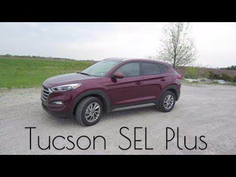 2018 Hyundai Tucson SEL Plus // Rental Car Review and Test Drive