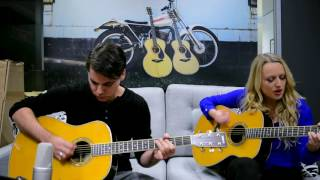 Yamaha TransAcoustic Guitars - First Impressions with Christie Lamb & Jonathan Sora-English