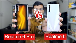 Realme 6 vs Realme 6 Pro Comparison, Camera, Battery, PUBG Settings | Realme 6 Pro Unboxing Hindi