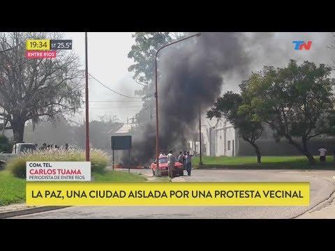 La Paz, una ciudad aislada por protesta de vecinos