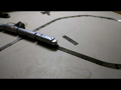 Amtrak Lionel model train set part one