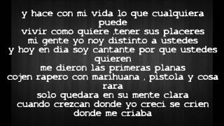 Don Omar - Bandolero [Lyrics]