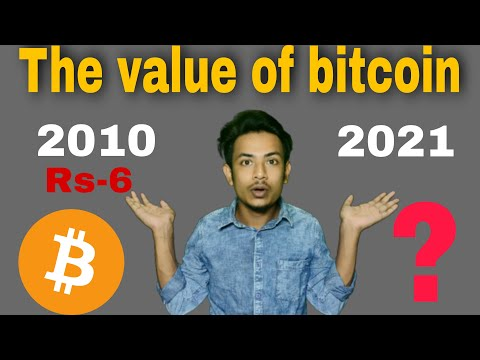 Value Of Bitcoin In 2010 To 2021 || Price Of Bitcoin|| Tech And Technology ||