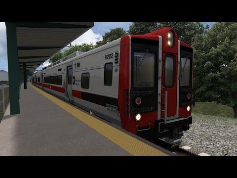 TS2015 HD: Metro-North M8 EMUs Operating Round Trip NJT Jersey Avenue Express Runs [WABCO AA2]