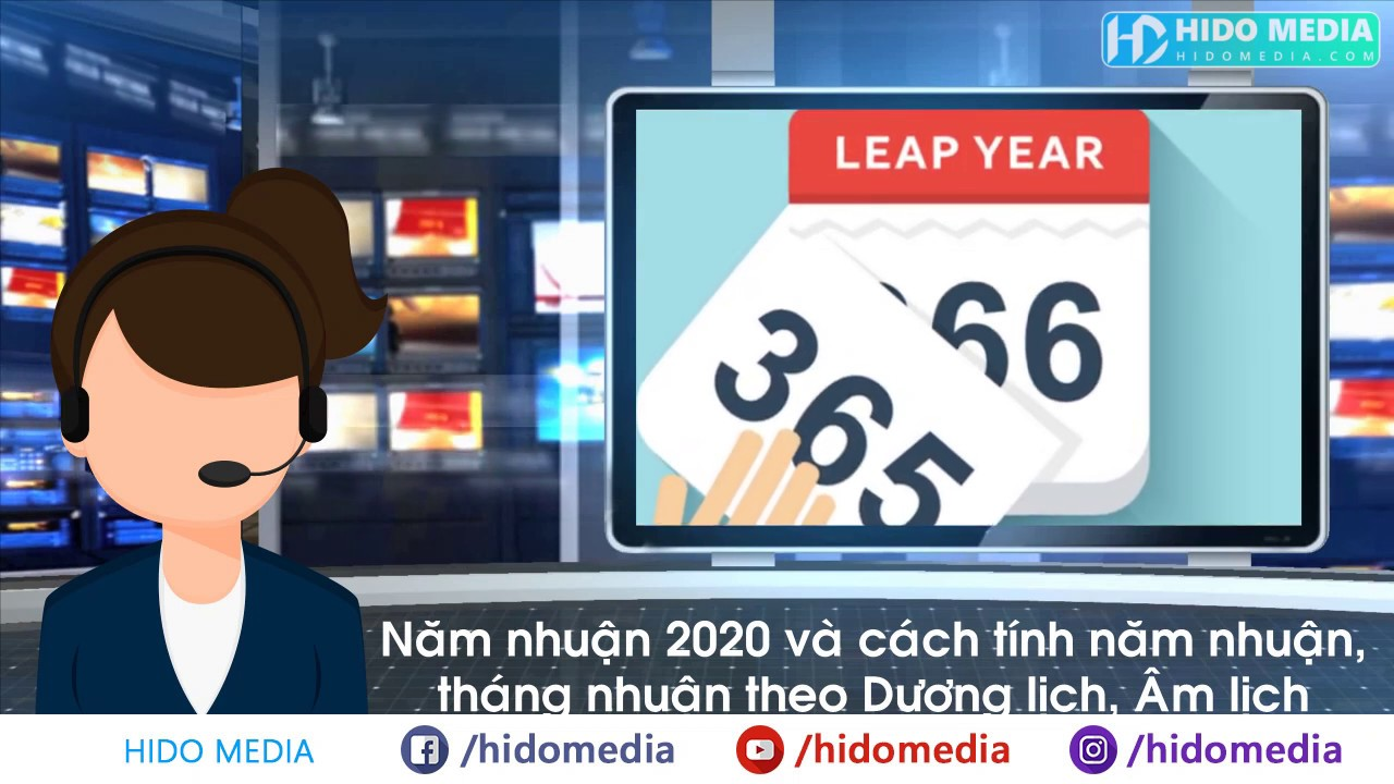 Năm nhuận 2020 và cách tính năm nhuận, tháng nhuận theo Dương lịch, Âm lịch