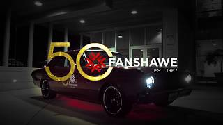 A 1967 Ford Falcon Rebuilt for Fanshawe's 50th Anniversary