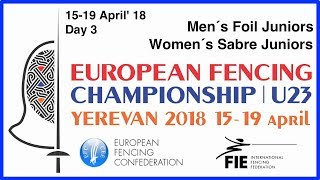 Day 03 2018 European fencing championships U23 - Blue
