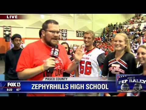 FOX 13 Pep Rally: Zephyrhills High School