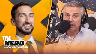 Michael Jordan's great in any era, talks Jerry Krause, Aaron Rodgers & Cam — Nick Wright | THE HERD