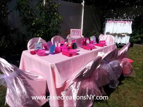 Spa Parties For Girls Ny Diva Spa Party Glamour Parties
