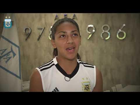 #SudamericanoSub20Femenino Nuestras representantes: Milagros Díaz