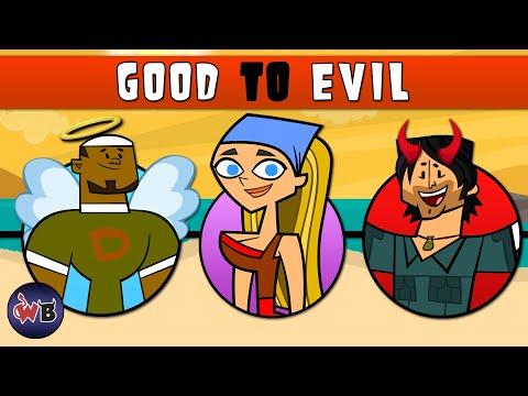Total Drama Original Contestants: Good to Evil