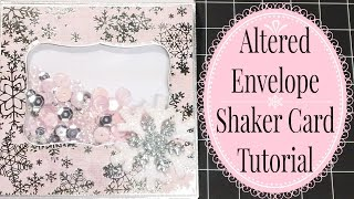 Easy Envelope Shaker Card Tutorial!
