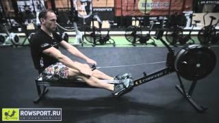 Гребные тренажеры Concept2: техника тренировки