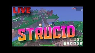 ROBLOX WITH SUBS! // Strucid, Lucky Blocks and More! // Positive! // This game is funny!!