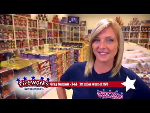 Gray Summit Missouri Fireworks Supermarket
