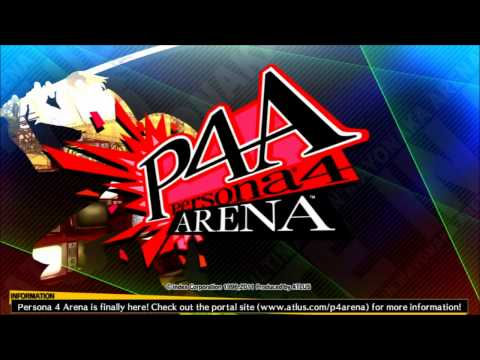Persona 4 Arena BGM: Reach Out to the Truth (P4 Arena ver.)