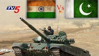 Military Strength Comparison | Indian Army vs Pakistani Army | Telugu News | TV5 News