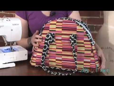How To Make a Zippered Tote-DIYStyle #53-Zippered Tote (Part One)