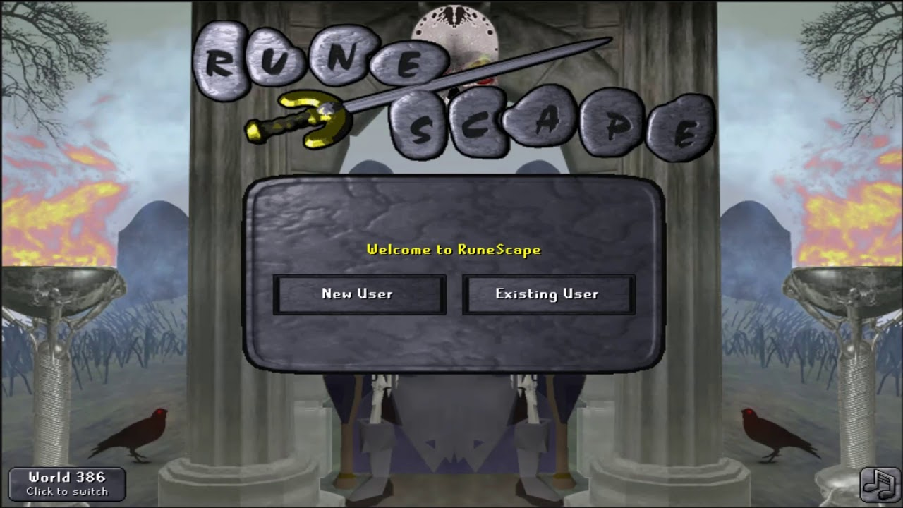 Osrs Halloween Login Screen Theme Music Youtube
