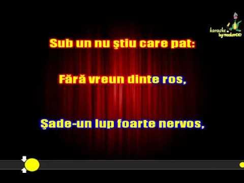 Rosu si Negru - Pseudofabula (Karaoke By snooker6767)