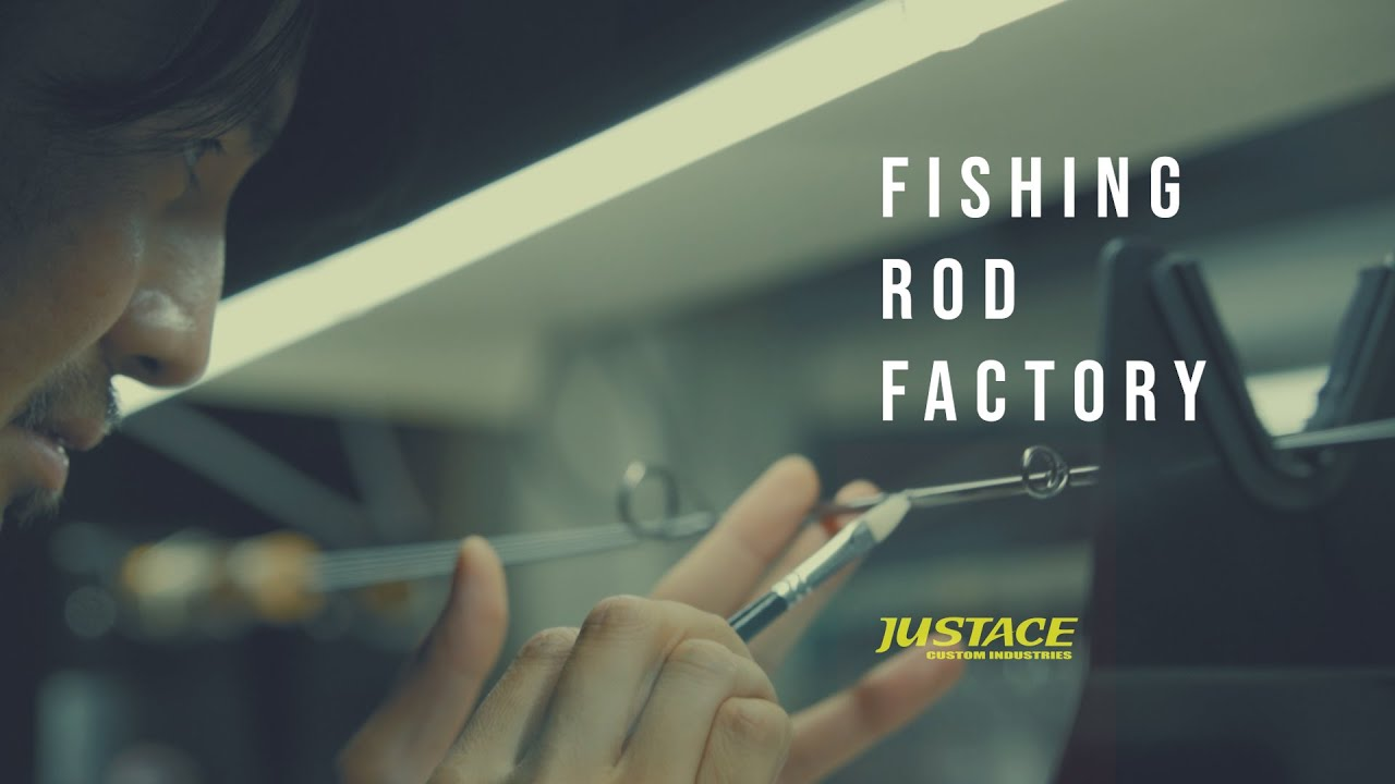 JUSTACE Rod building  Corporate branding