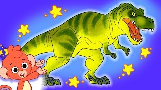 Learn Dinosaurs for Kids | Dinosaur Cartoon videos | T-Rex Ankylosaurus | Club Baboo dinasours