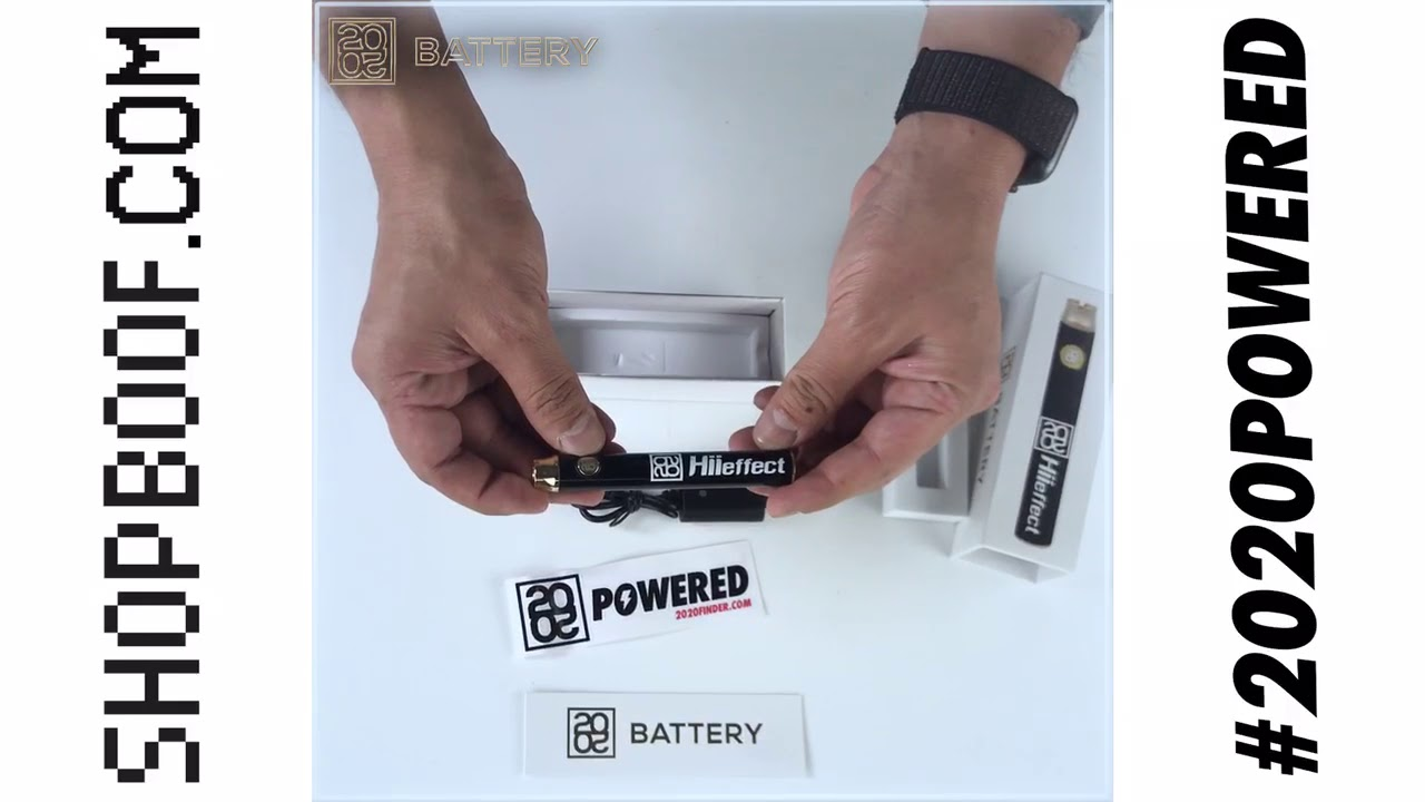 Best Vape Battery 2020 Unboxing 2020 HiiEffect Battery Pen Vape   YouTube