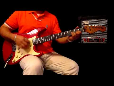 FLY PEOPLE FLY  GUITAR COVER by Marvin Suela