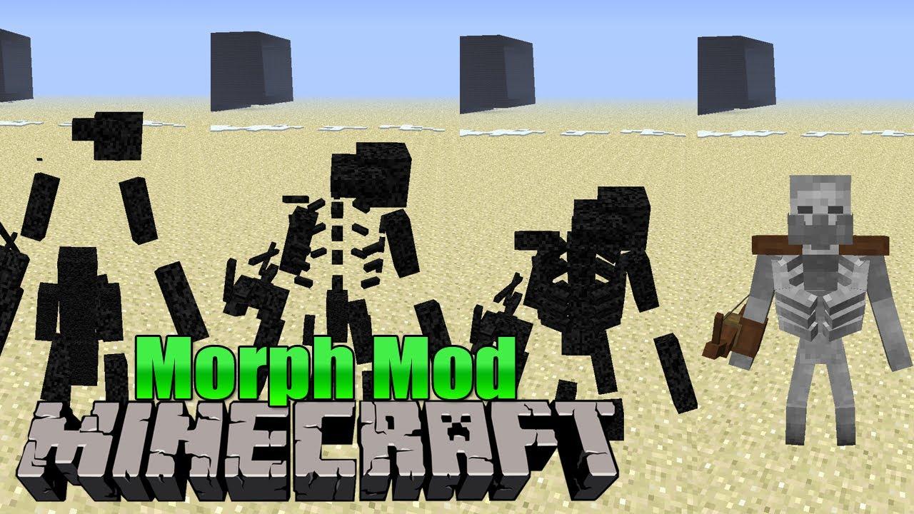 Morph (Gestaltwandler) Mod! - Minecraft Mod #1