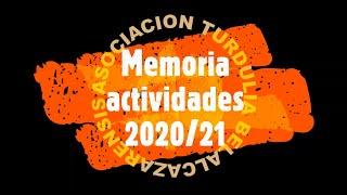 Memoria actividades 2020/21 - Asociación Cultural Turdulia