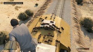 #240【GTA5】爆弾40個で列車は止まるのか!!
