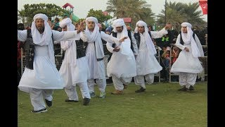 Traditional Baloch Dance   Balochi Chap in University of Lahore (UOL)