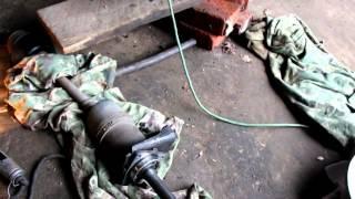 Как снять привод передних колес, для замены внутреннего шруса ВАЗ