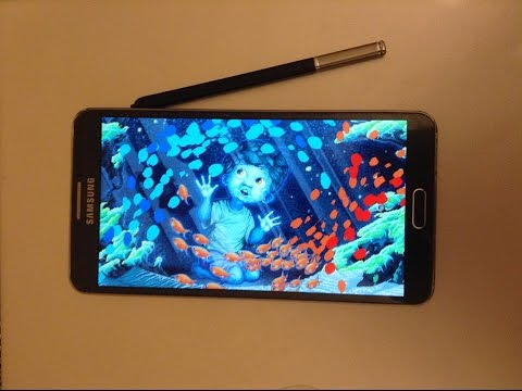 Galaxy Note 3 - An Artist's Review