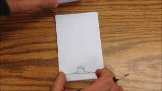 Creative - cara membuat gambar di buku terlihat bergerak