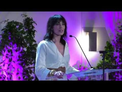 Michelle Forbes, Animal Equality Gala 2017, Keynote Introduction