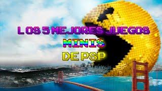 Los 5 mejores juegos MINIS de PSP | luigi2498