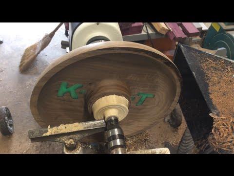 # 29 - Wood Turning - The Maker's Bowl - Walnut & Resin