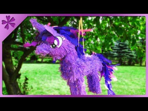 Diy My Little Pony Pinata Big Unicorn Eng Subtitles