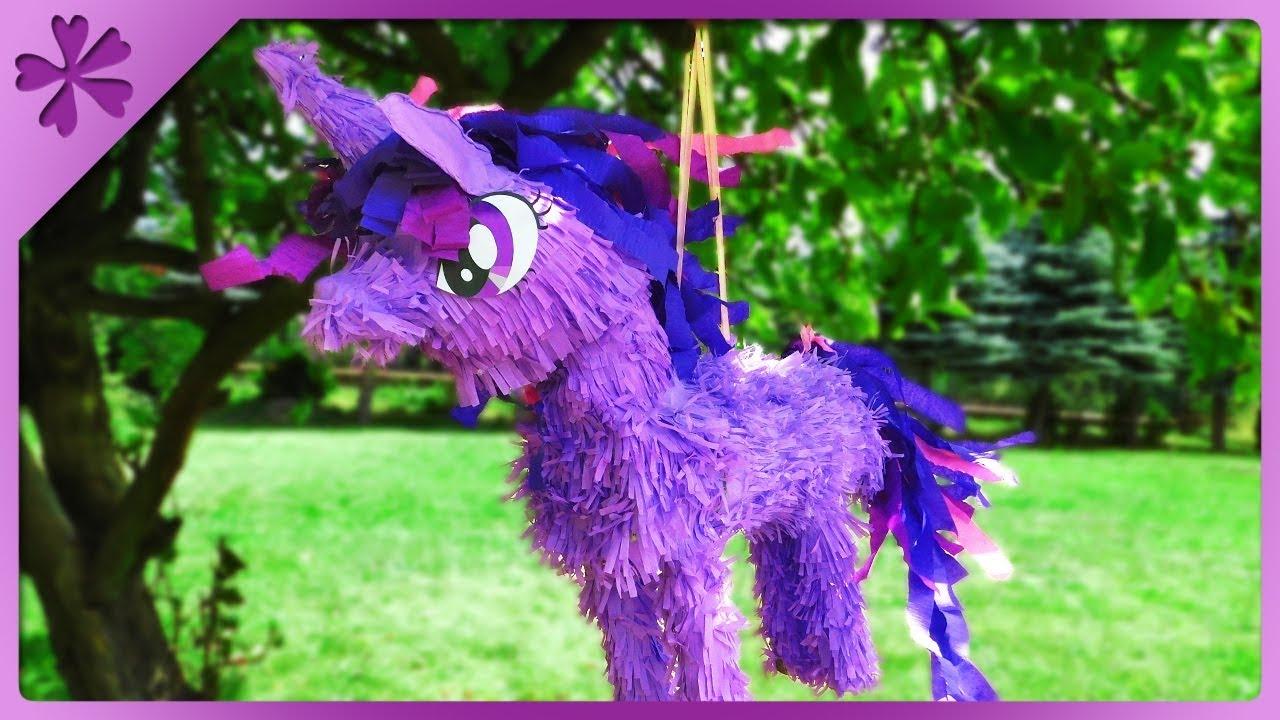 Diy My Little Pony Pinata Big Unicorn Eng Subtitles Speed Up 619