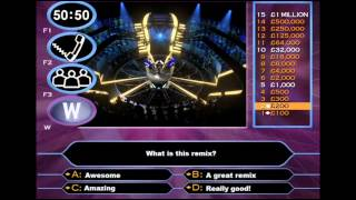 Who wants to be a millionaire (trance remix)