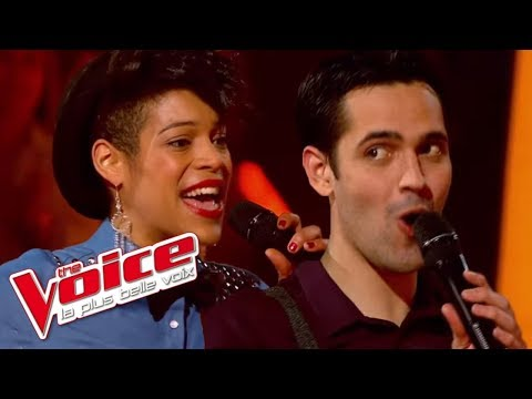 The Voice 2013 | Yoann Fréget VS Tyssa - Can You Feel It (The Jacksons) | Battle