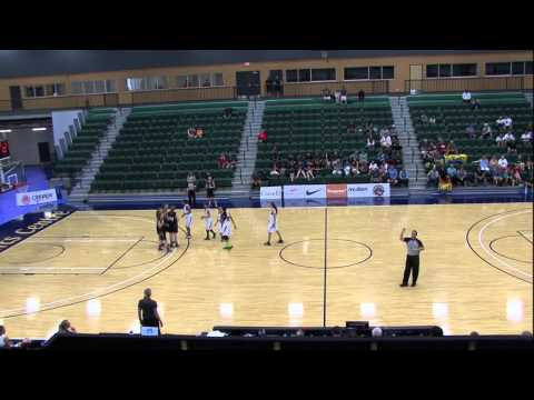 Bronze Medal Game - U15 Girls - New Brunswick vs. Manitoba