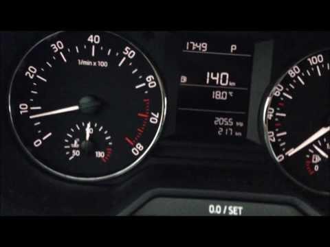 Новая Skoda Octavia III A7 Ambition. Беглый обзор внутри