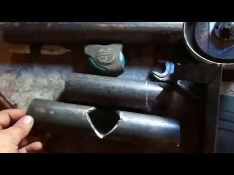 Pipe Welding. Как правильно врезать трубу в трубу одного диаметра. Сварка труб.