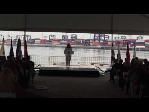 NY and NJ Harbor Deepening Project Completion Ceremony